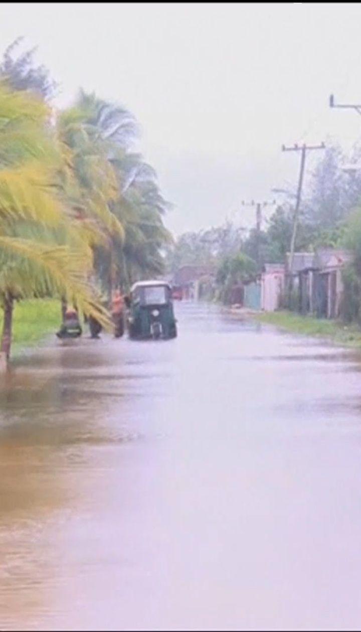 """На западе Кубы и востоке Мексики ударил ураган """"Майкл"""""""