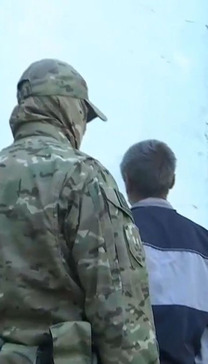 Российского шпиона задержали в Запорожской области
