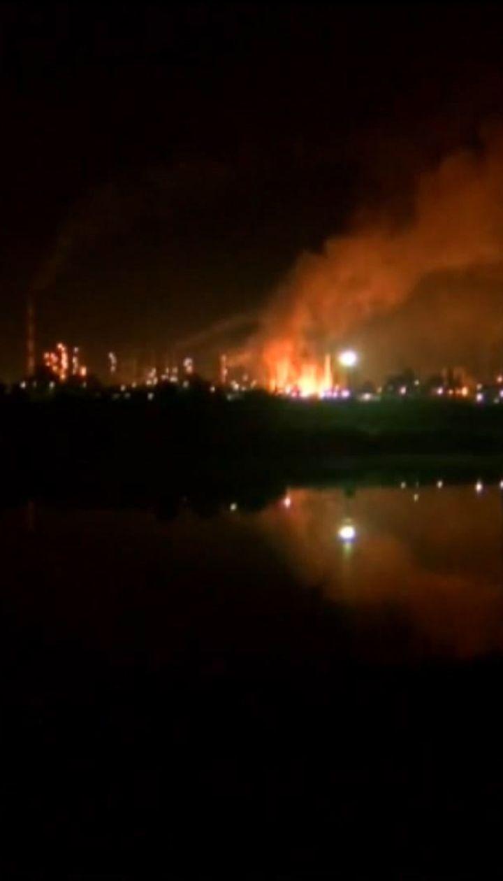 В Боснии и Герцеговине взорвался нефтеперерабатывающий завод, принадлежащий российской компании