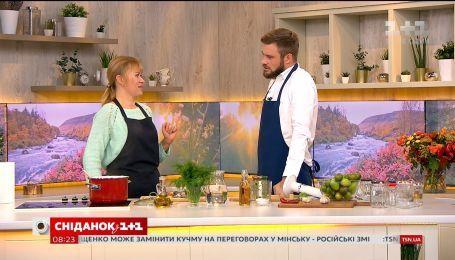 Гострий салат із зелених помідорів за рецептом Дарії Дорошкевич