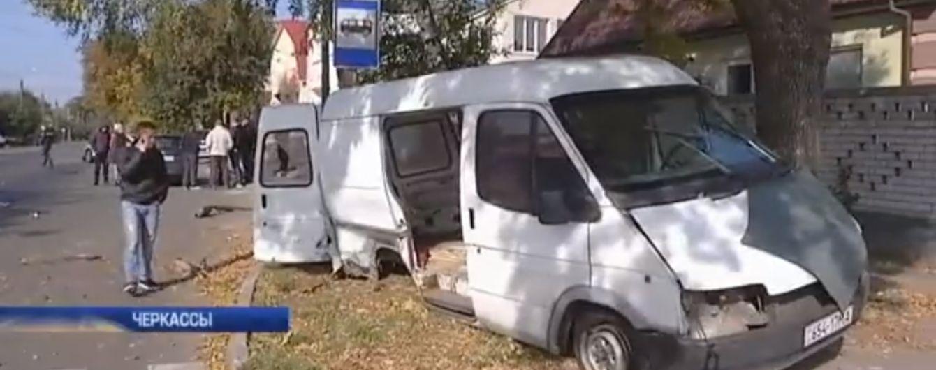 В Черкассах полицейские на Audi с еврономерами попали в жуткое ДТП