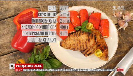 Рулеты из запеченных болгарских перцев - рецепты Сеничкина