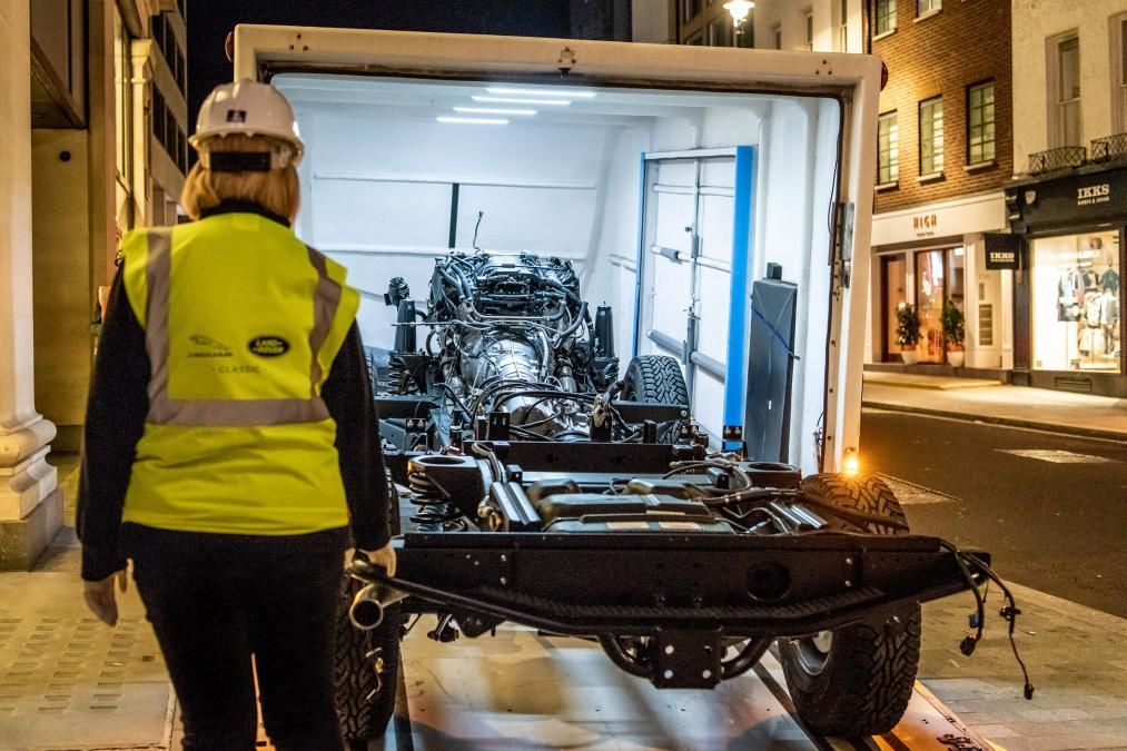 Land Rover Defender, Land Rover Selfridges Edition Defender Works V8