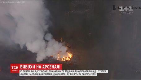 Интервалы детонации снарядов на Черниговщине значительно уменьшились