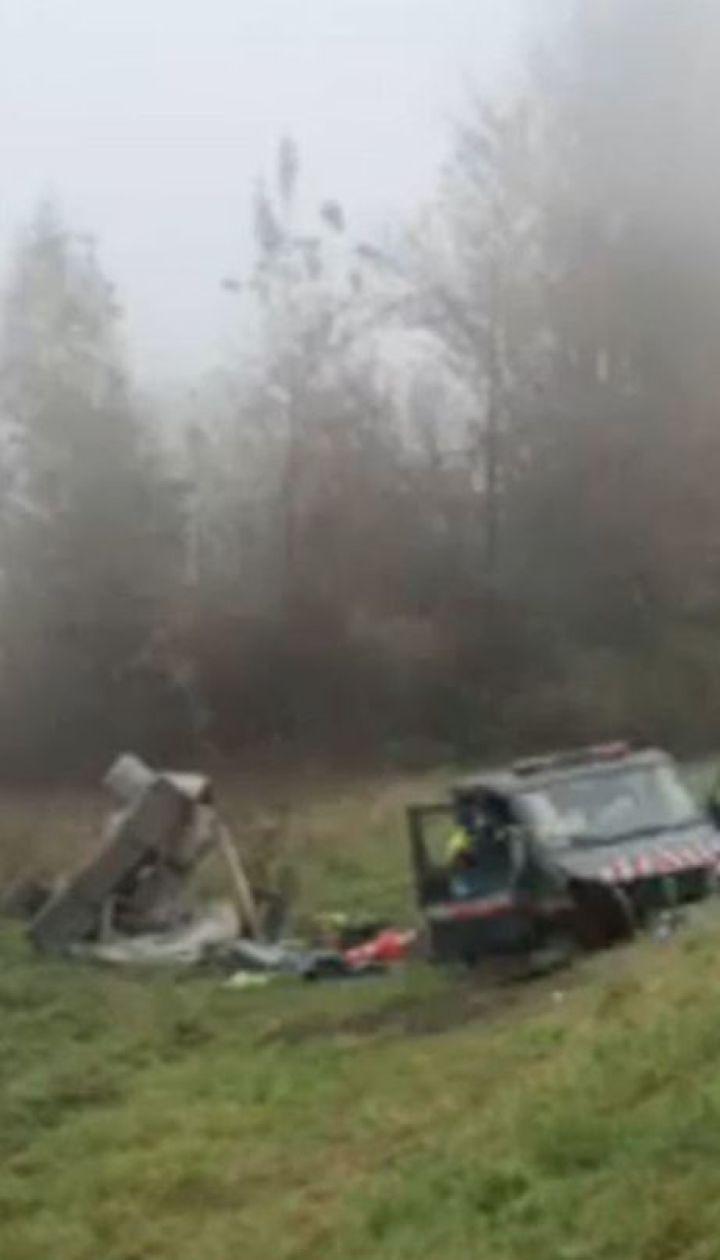 Из-за тумана на Львовщине произошло сразу два смертельных ДТП