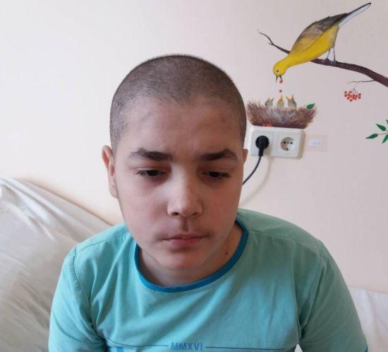 Гостра лімфобластна лейкемія поставила під загрозу життя Михайла