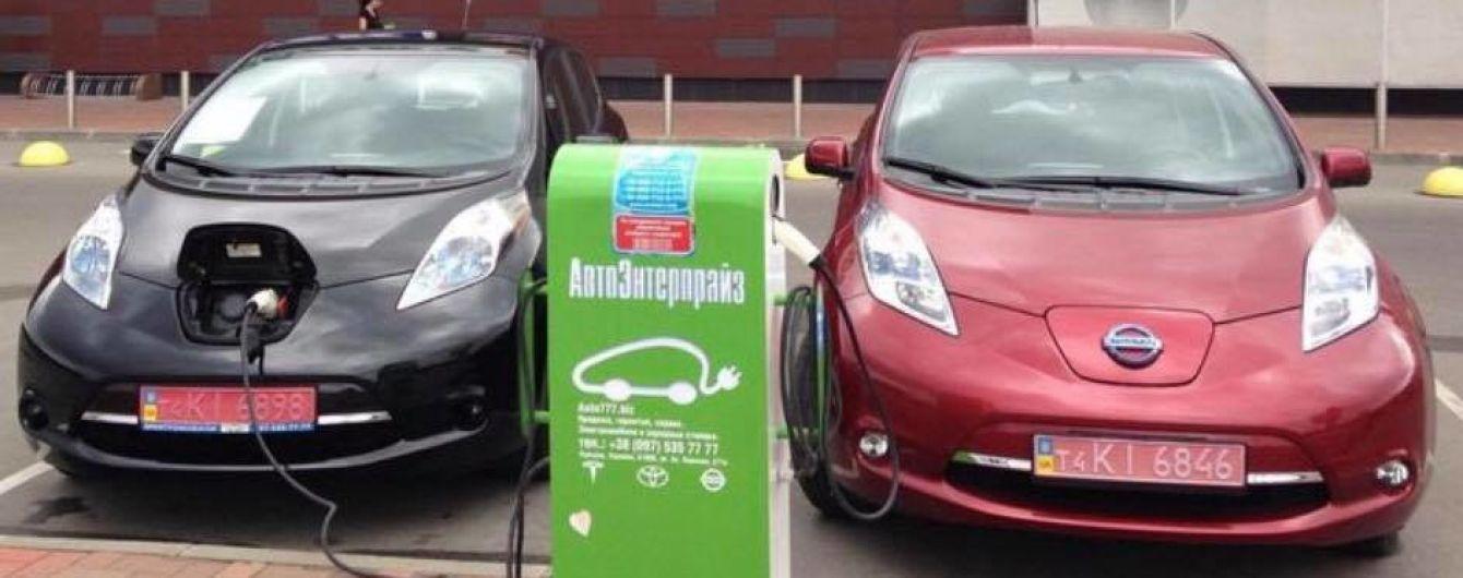 Уряд планує скасувати нульові акцизи на ввезення електромобілів в Україну