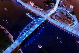 У Кличко рассказали, когда достроят мост от Подола на Троещину