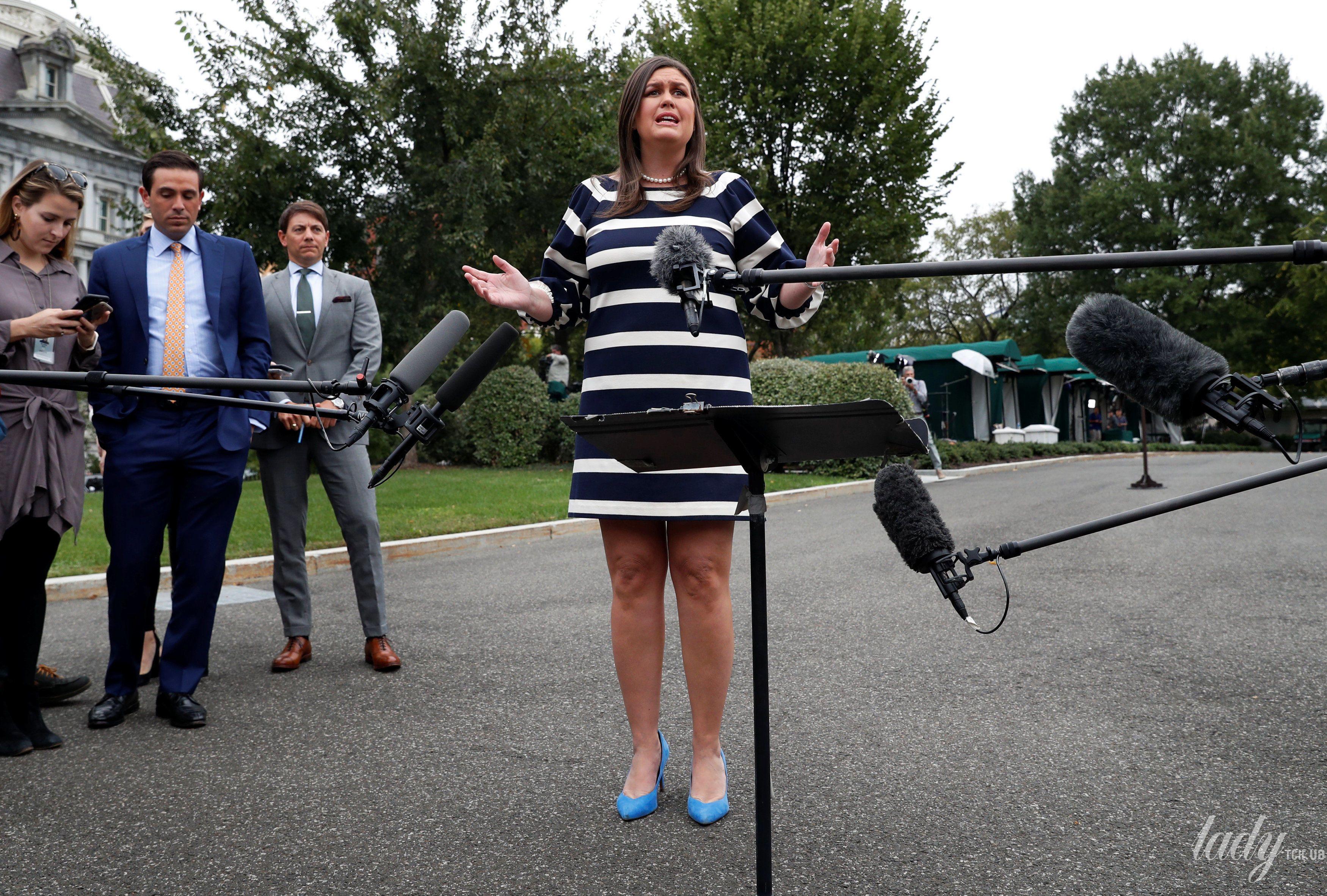 Пресс-секретарь Белого дома США Сара Хакаби Сандерс_3