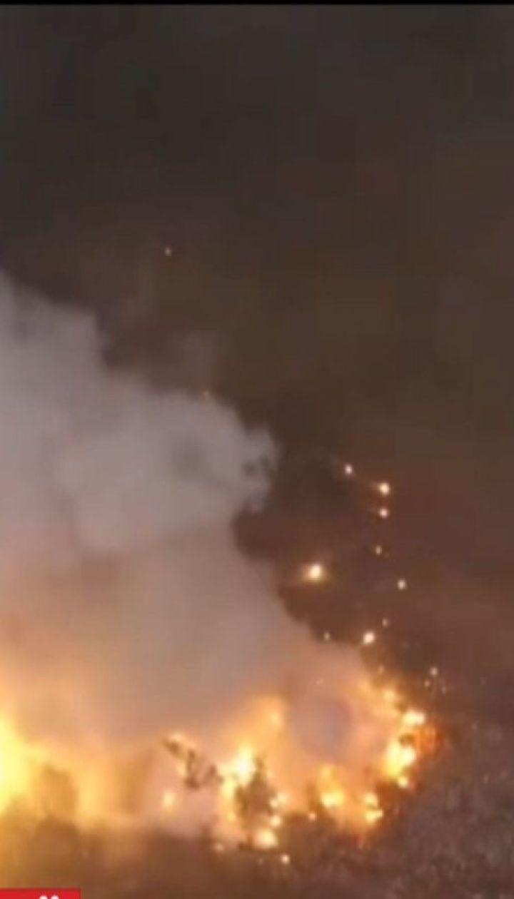 На Ічнянських складах вибухівку заклали у дев'яти різних місцях