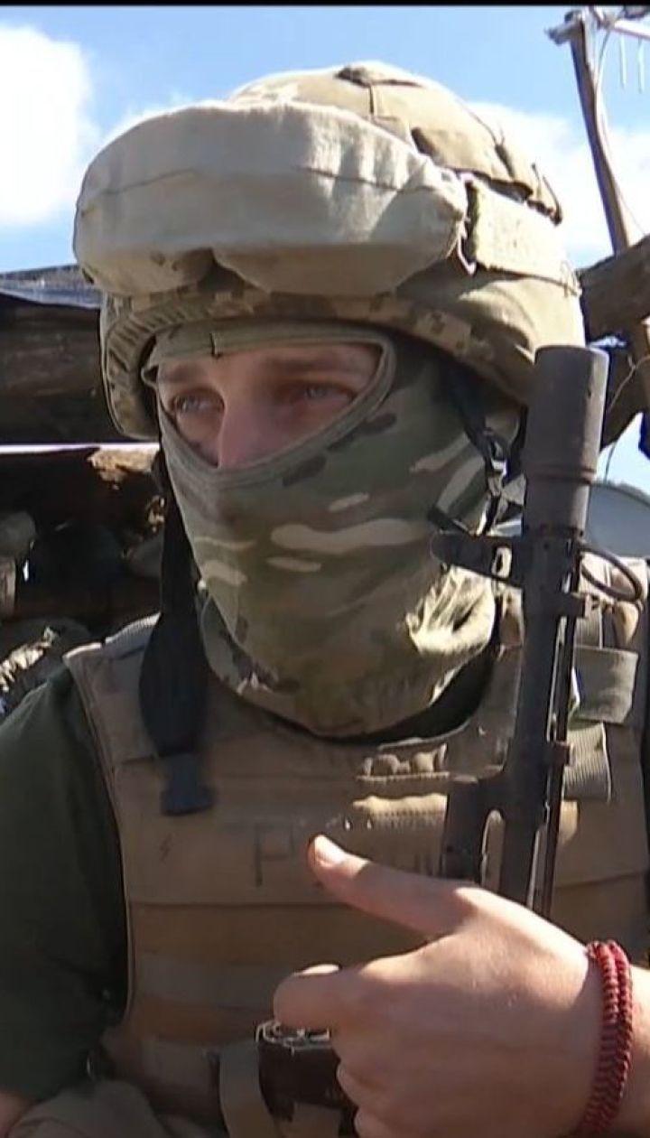 У Волновахи украинские бойцы зачистили населенный пункт от боевиков