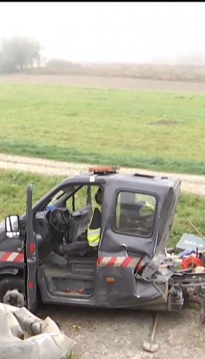 В жуткой ДТП на Львовщине погиб человек, шестеро травмированы