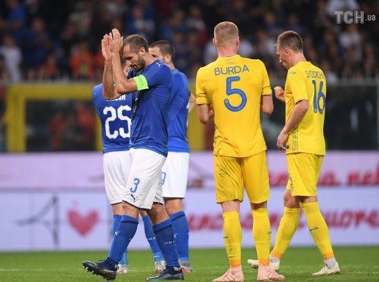 Збірні Італії та України вшанували пам'ять жертв трагедії в Генуї