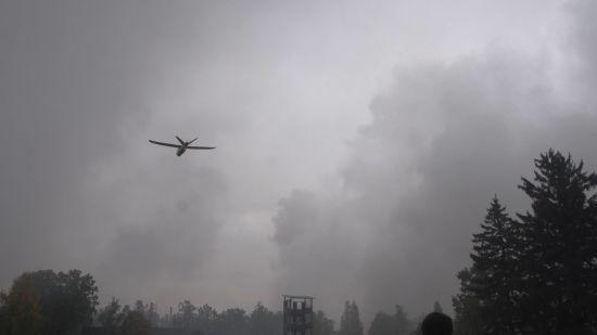 Після ліквідації пожежі та вибухів на військовому складі біля Ічні відкрили небо для польотів літаків