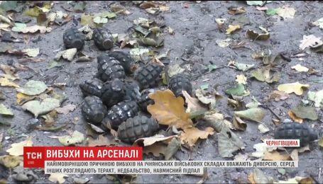 Стали известны детали взрывов на складах возле Ични