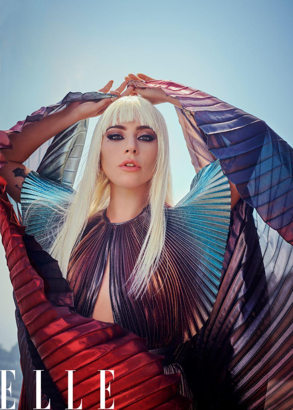 Леді Гага для ELLE_2