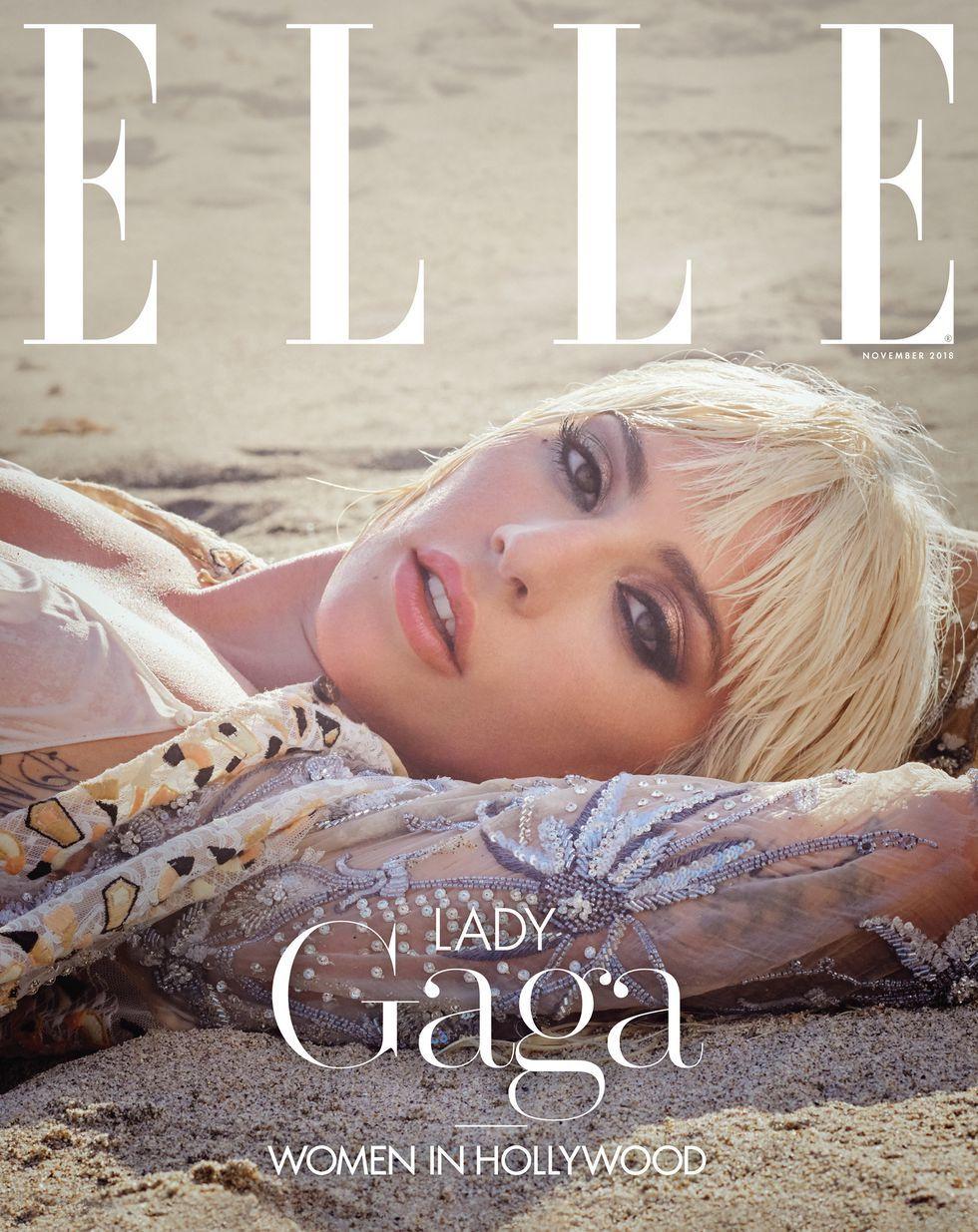Леді Гага для ELLE_4