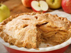 Закрытый яблочный пирог от Марты Стюарт