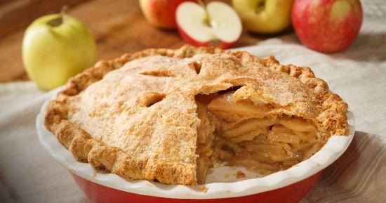 Закритий яблучний пиріг від Марти Стюарт