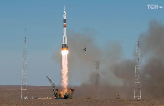 """""""Роскосмос"""" оприлюднив відео аварії ракети """"Союз"""""""