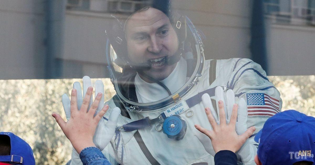 Американский астронавт Тайлер Хейг