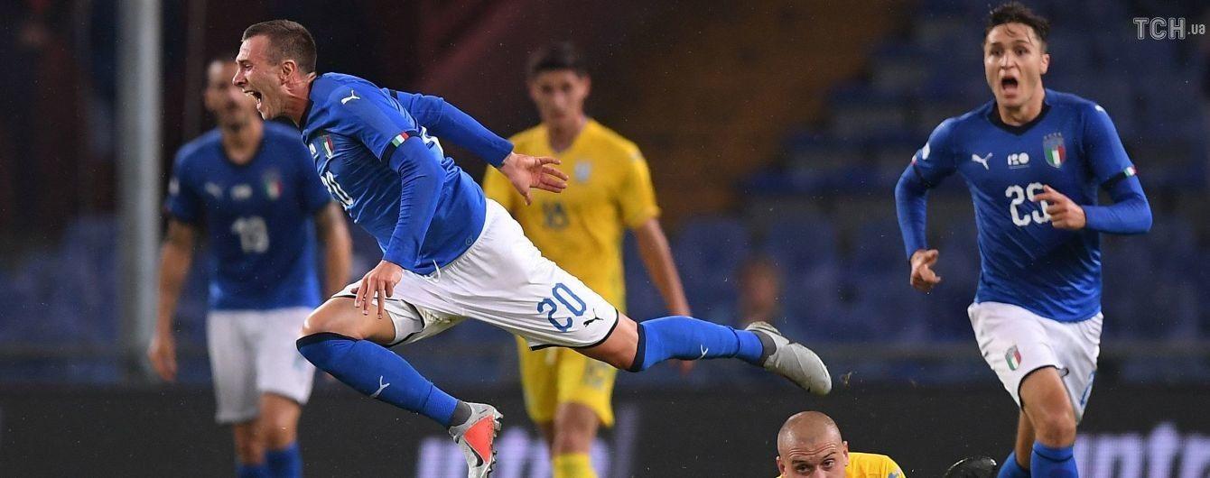 Сборная Италии в матче с Украиной повторила невероятный антирекорд, державшийся 93 года
