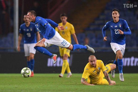 Збірна Італії у матчі з Україною повторила неймовірний антирекорд, який тримався 93 роки