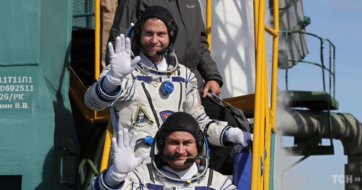 Американський астронавт Тайлер Хейг та російський космонавт Микола Овчінін
