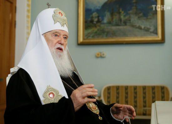 З патріарха Філарета та архиєпископа Макарія зняли анафему - ЗМІ