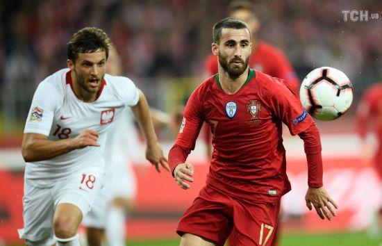 Ліга націй. Збірна Португалії у драматичному матчі обіграла Польщу