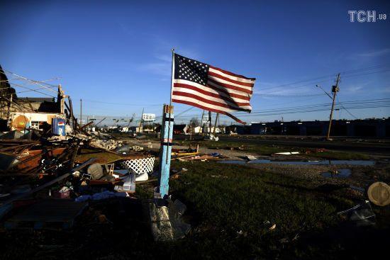 """Ураган """"Майкл"""" атакував базу ВПС США у Флориді"""