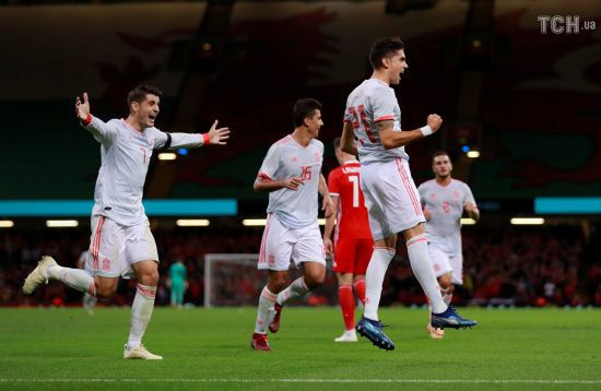 Збірна Іспанії за півгодини розбила Уельс