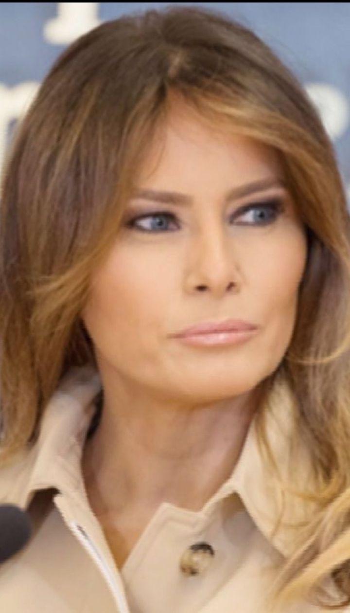 Краще б ти не давала інтерв'ю, Меланіє: американці обурені словами першої леді