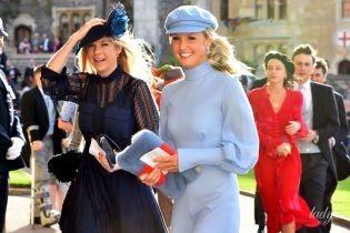 Колишня любов принца Гаррі - Челсі Деві, приїхала на весілля принцеси Євгенії у Віндзорський замок