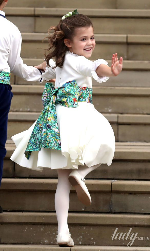 Дети на свадьбе принцессы Евгении_9