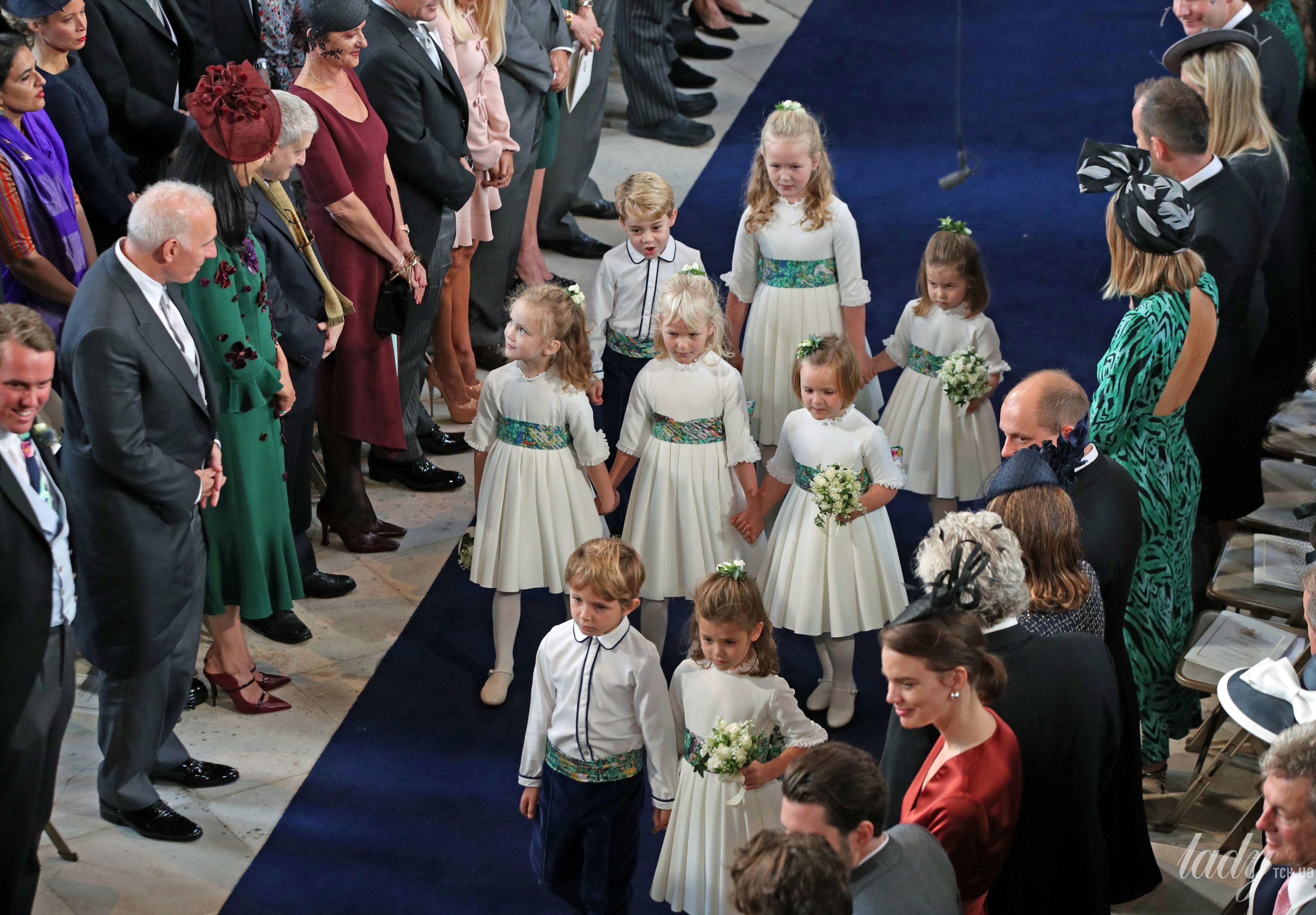 Дети на свадьбе принцессы Евгении_11