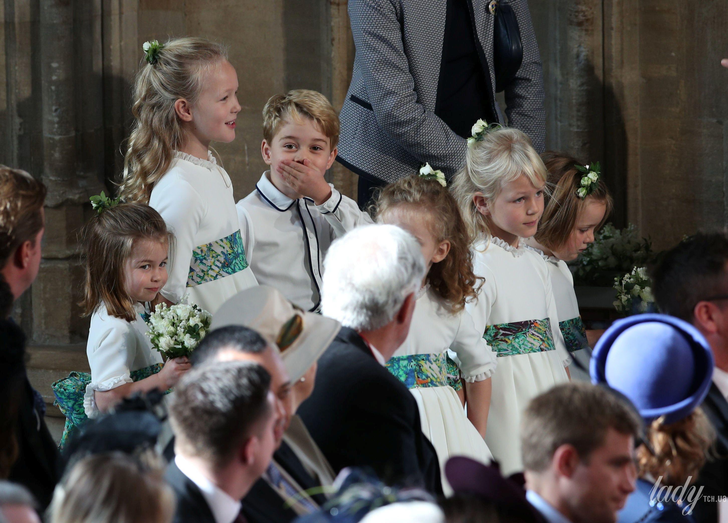 Дети на свадьбе принцессы Евгении_5