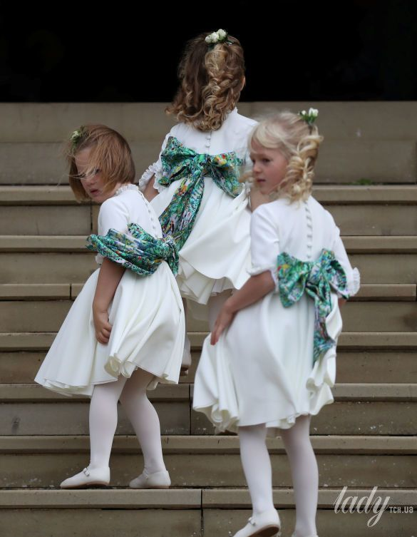 Дети на свадьбе принцессы Евгении_8