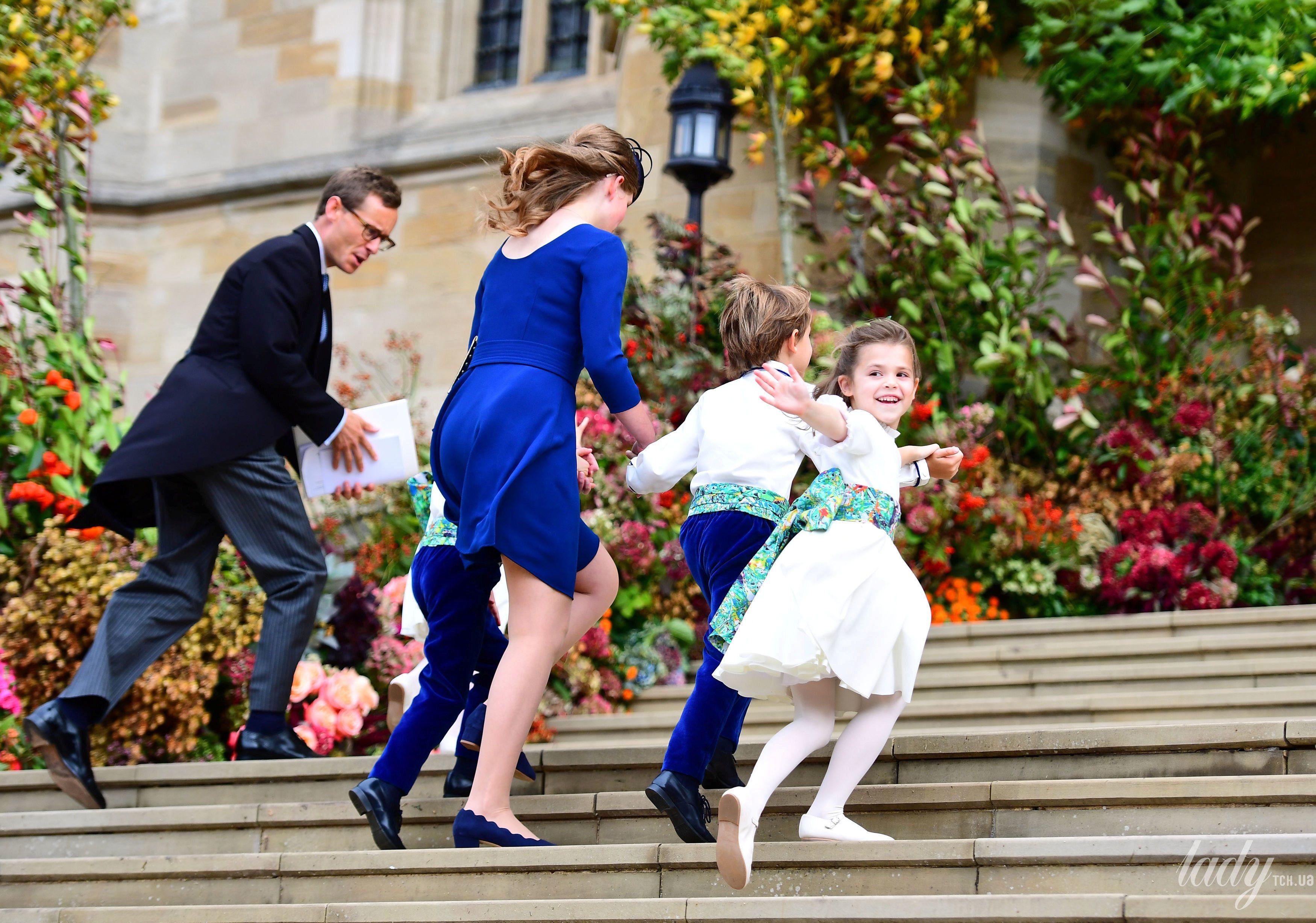 Дети на свадьбе принцессы Евгении_6
