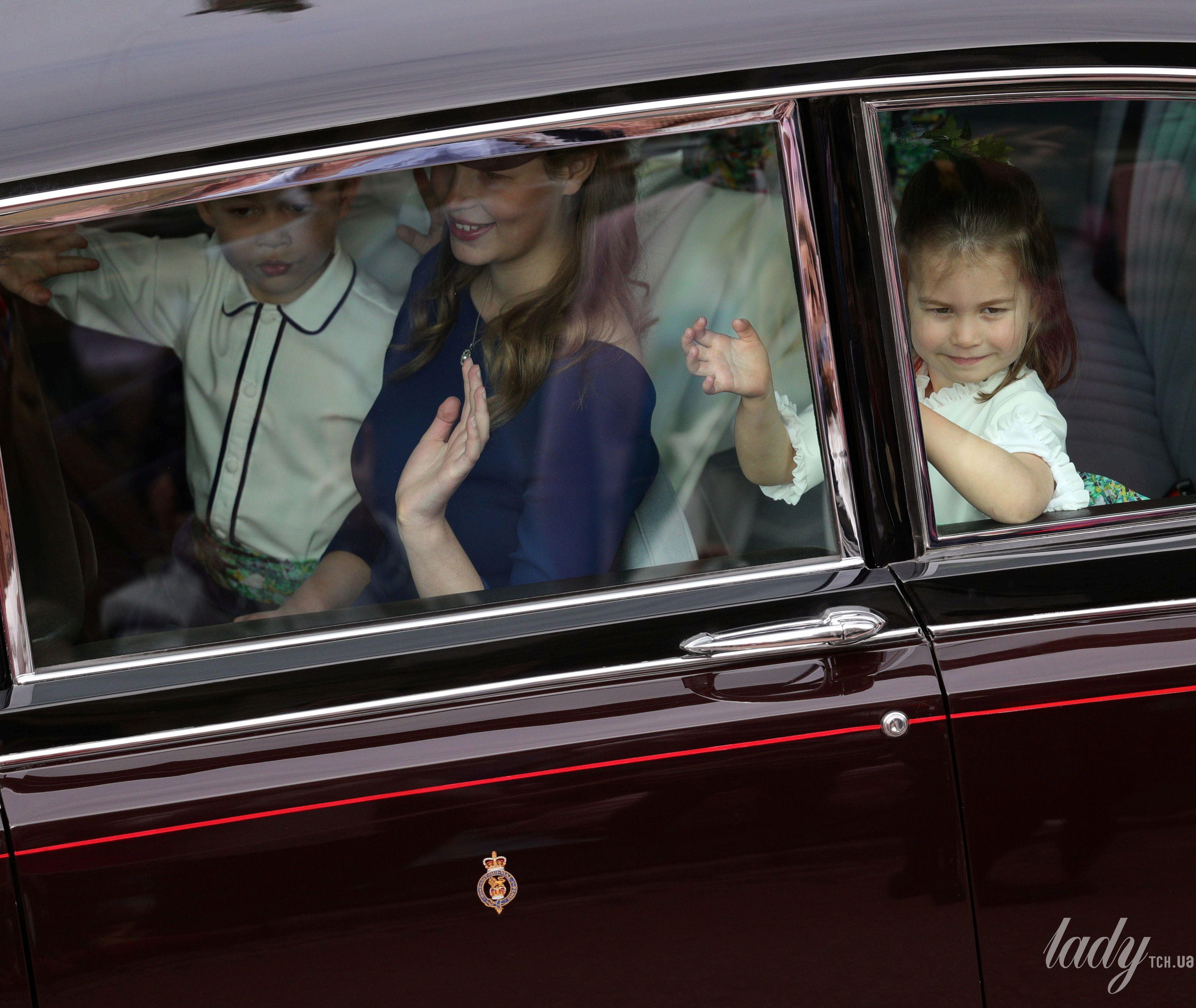 Дети на свадьбе принцессы Евгении_1