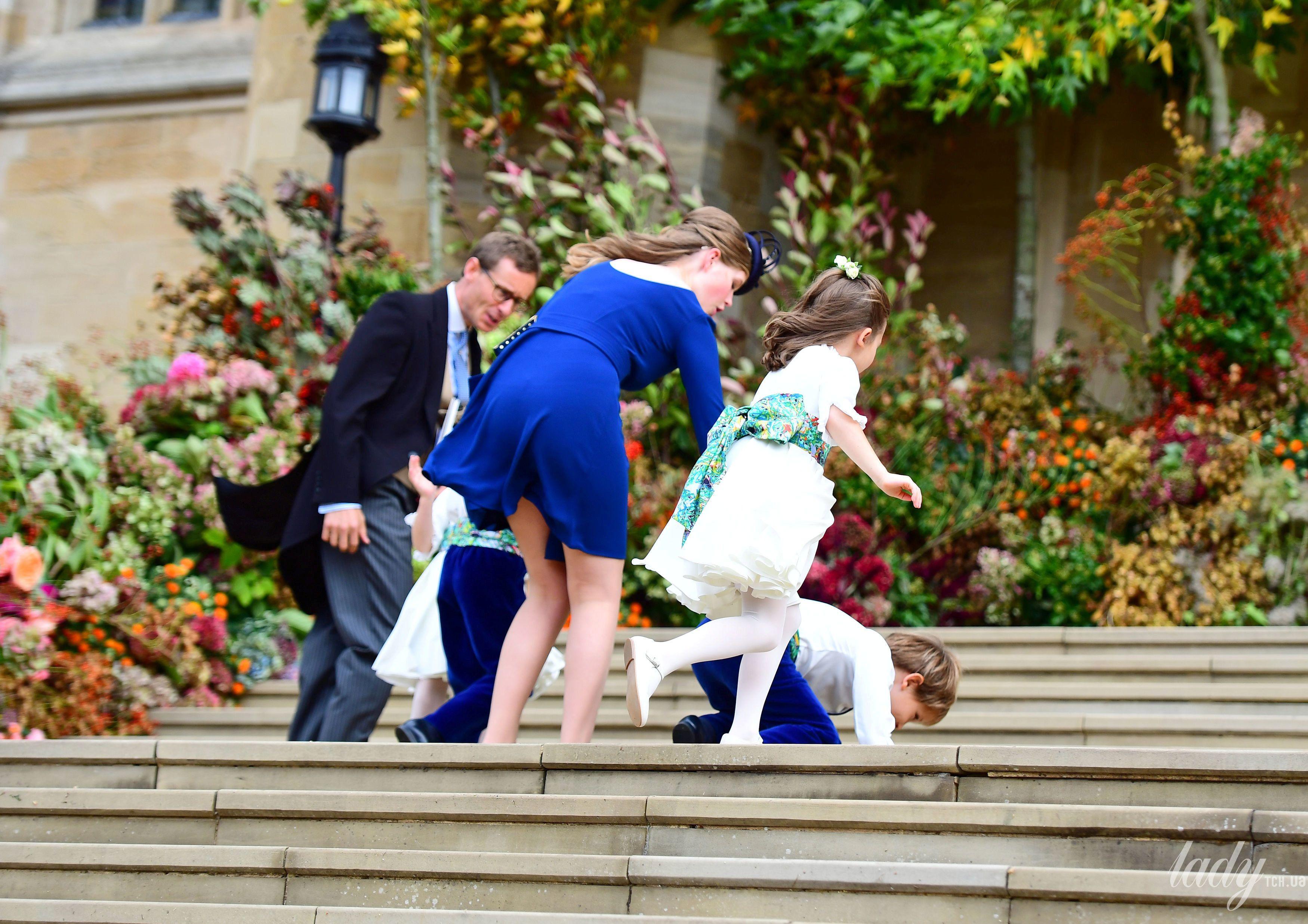 Дети на свадьбе принцессы Евгении_13