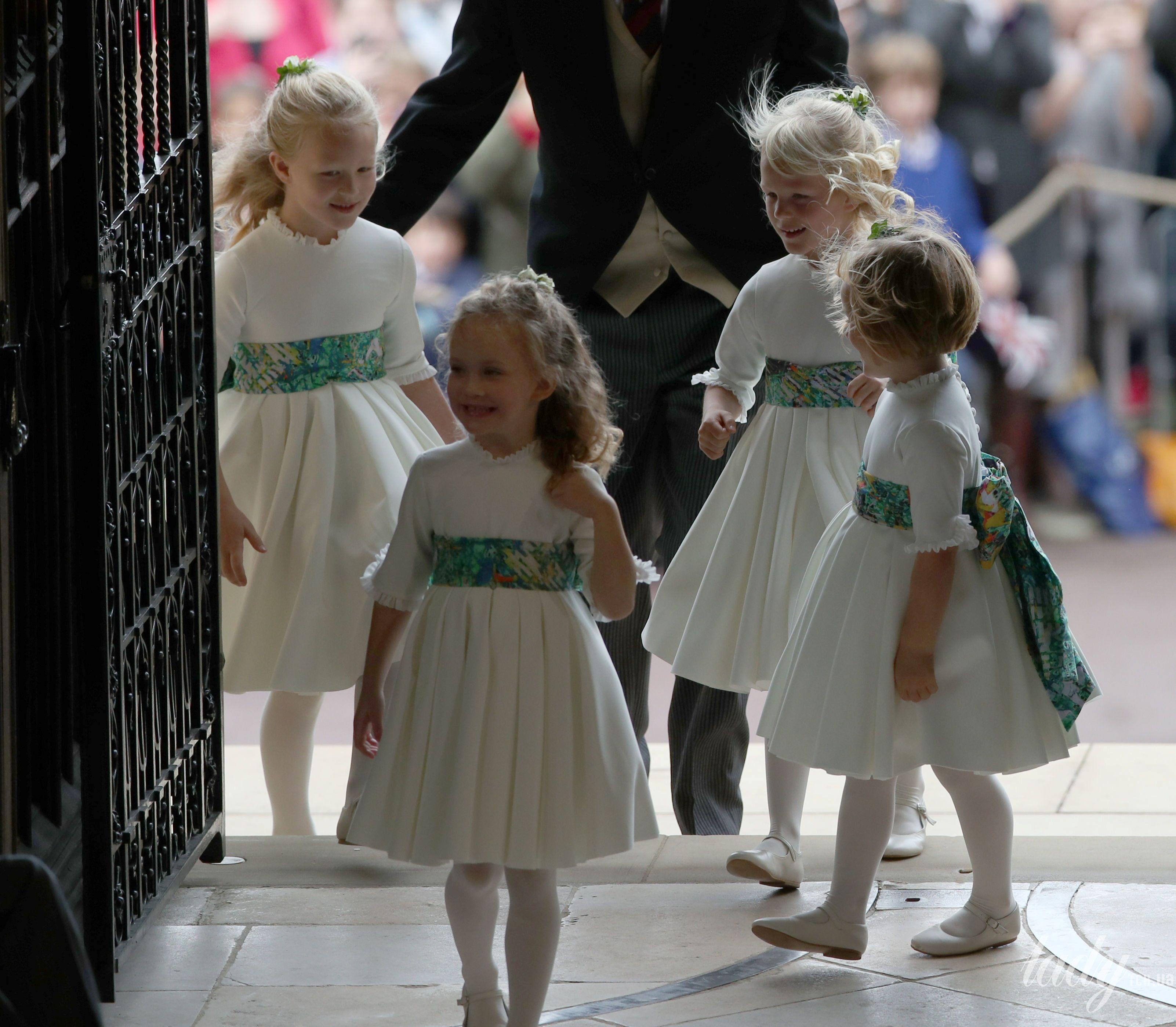 Дети на свадьбе принцессы Евгении_16