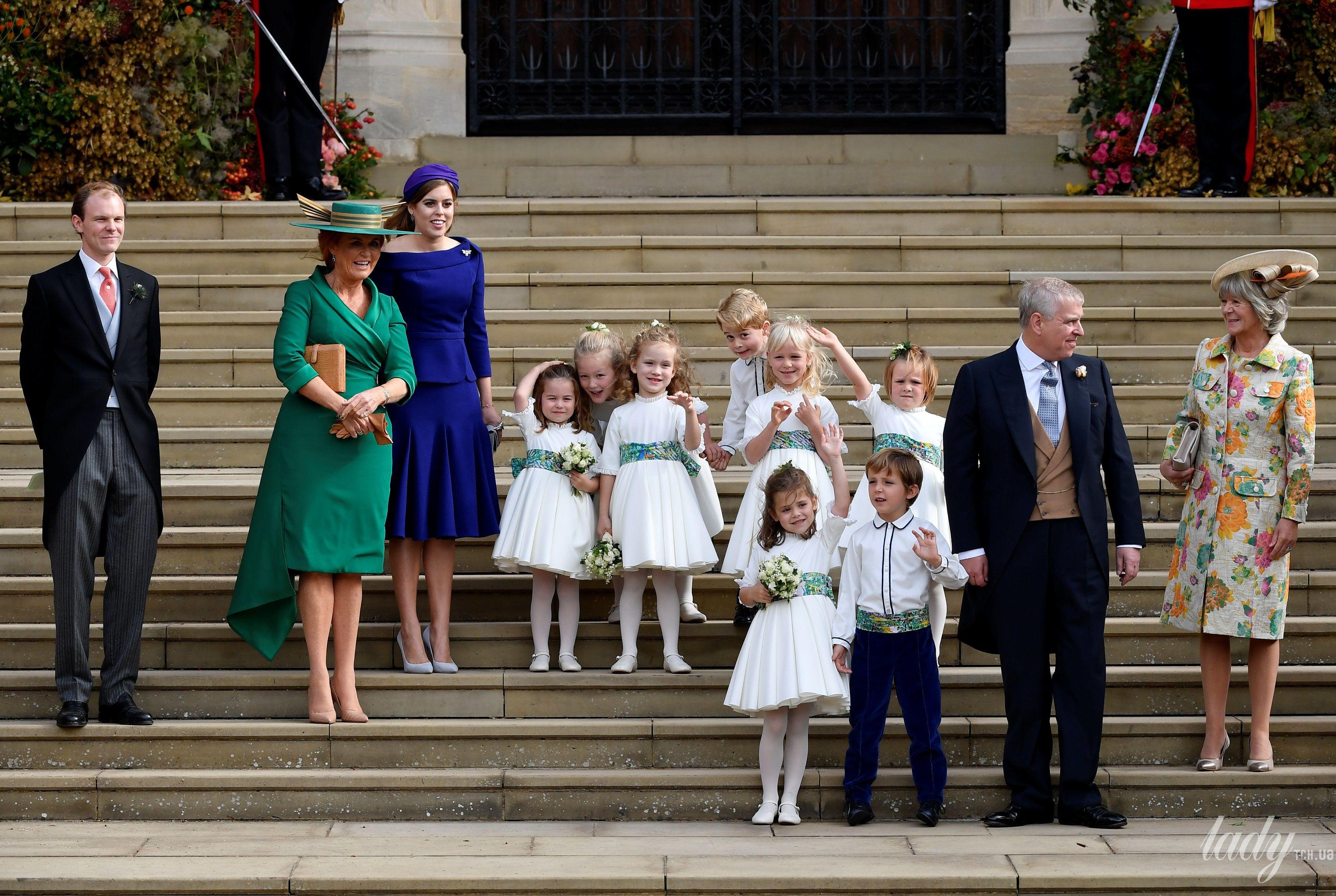 Дети на свадьбе принцессы Евгении_3