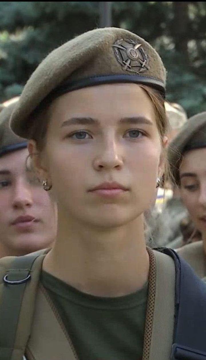 Сменила платье на камуфляж - история 20-летней Людмилы Бондик