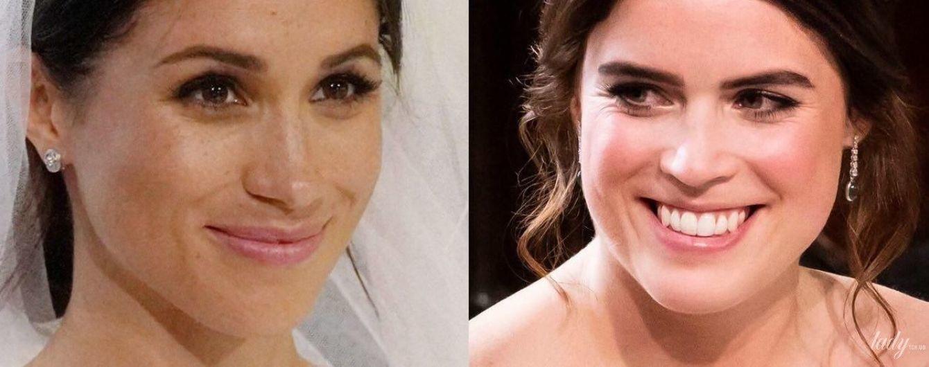 Битва весільних образів: принцеса Євгенія vs герцогиня Сассекська Меган