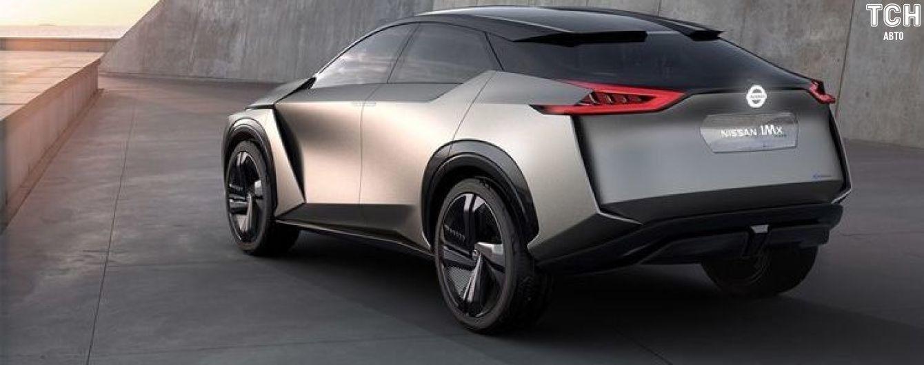 Nissan готується до випуску кросовера на електриці