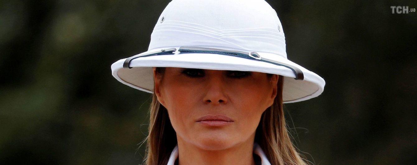 Мелания Трамп впервые прокомментировала скандальные слухи об изменах мужа-президента