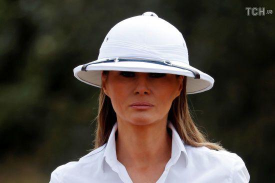 Меланія Трамп вперше прокоментувала скандальні чутки про зради чоловіка-президента