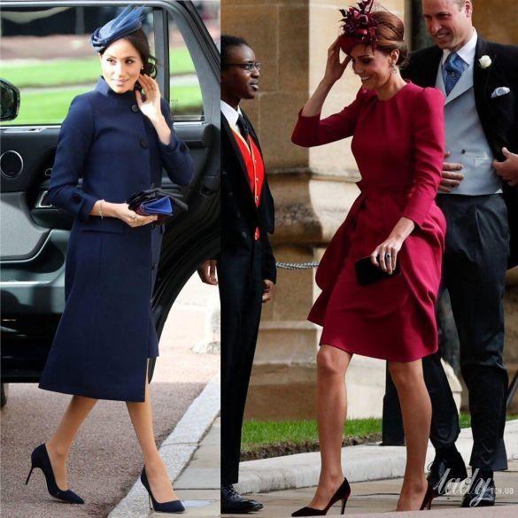 Битва образов герцогини Кембриджской и герцогини Сассекской_7