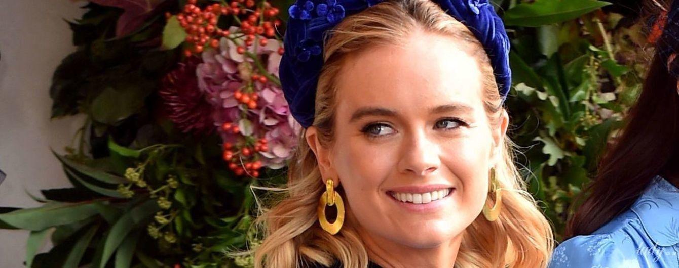 Ще одна колишня дівчина принца Гаррі: Крессида Бонас на королівському весіллі